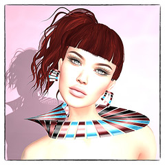 LuceMia - On9 Event (MISS V♛ ITALY 2015 ♛ 4th runner up MVW 2015) Tags: on9event secondlife sl new event creations fantasy beauty hud colors zibska tukinowaguna hair jewelry nackelace models lucemia