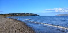 Stranraer Beach (Joan's Pics 2012) Tags: stranraerbeach dumfriesandgalloway thewig blueskies coast beach seascapes lochryan