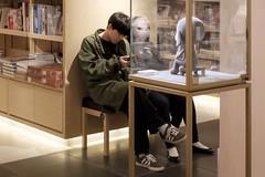 Japan, Alien Girlfriend (Edas Wong) Tags: surreal snapshot contemporary hongkong edaswong streetphotography streetphotographer