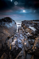 Lead me to the Water (RTA Photography) Tags: meadfoot torquay torbay southdevon rocks seascape light sea sky clouds nature outdoors pools rtaphotography water weather morning nikon d750 nikond750 nikkor1835 dawn outside coastal dark colour gnd nd fx fullframe