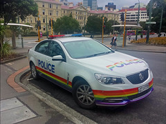 Project 365:067 (Jacqi B) Tags: pride rainbow policecar project365 project3652018 car