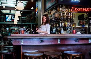 Happy life in bar/cafe De Zwarte Ruiter 2018