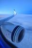 Flying Alaska Airlines (A Sutanto) Tags: window seat as alaska air inflight blue hour dawn morning