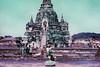 Ayutthaya (D. R. Hill Photography) Tags: ayutthaya thailand asia southeastasia travel nikon nikonfe2 fe2 nikon35mmf28 35mm primelens fixedfocallength manualfocus film analog 135 35mmfilm purple lomo lomography lomochromepurple lomochromepurplexr100400