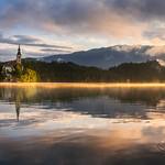 Lake Bled on a summer morning thumbnail