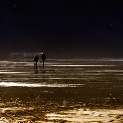Exhausting... (Bruus UK) Tags: mawganporth cornwall reflections sunlight vape vapour smoke breath couple dog dogwalking coast beach sand cliffs beachlife strolling livingcornwall marine saltwater lowkey