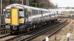 375910 (JOHN BRACE) Tags: 2003 bombardier derby built electrostar class 375 emu 375910 seen orpington station southeastern blue livery