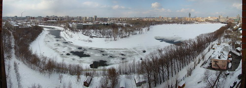 Вид на Исеть и район Заречный ©  ayampolsky