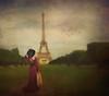 :: paris is always a good idea :: (mjcollins photography) Tags: paris france eiffel tower little girl vintage art paint composite fun travel visit suitcase