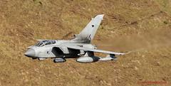 RAF Tornado Gr4 flying training in LFA7 (JetPhotos.co.uk) Tags: aviation bobsharplesphotography defence hills lfa7 lowflying lowflyingarea7 mountains roundabout snowdonia valley valleys wales welsh aircraft training raf tornado gr4 royalairforce wwwjetphotoscouk 058 za591 primus