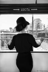 anni 50 0938 (kingeston) Tags: kingeston ernesto fiorentino nikon d750 set viaggio travel anni 50 tram atac roma woman donna bn bw bianco nero black white blanc noir blackhite bianconero bnw noiretblanc monocrome tour