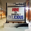 Wine, it's magically delicious (Fred:) Tags: wine magically delicious changeable plastic outdoor sign big letters acrylic signs affiche pancarte tempête neige hiver winter snowstorm snow storm blizzard halifax northend novascotia alcohol drinking funny inspiring advertising marketing liquor store alcool vin magic magical poudrerie night nuit rockhead soir evening hrm lettres signe
