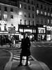 Rue de la Roquette (Nathanaël Photo) Tags: 75011 france lenalee modèle nocture nuit pantalon paris parisbyelles ruedelaroquette uneseulefemme