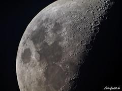 Half Moon (astrofan80) Tags: astronomie krater mond astronomietag huawei