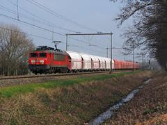 DBC 1616 (jvr440) Tags: trein train spoorwegen railroad railway halfweg db deutsche bahn cargo 1600