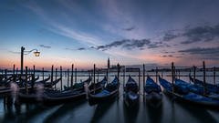 Catch the light in Venice (hjuengst) Tags: venice venedig venezia italy italien sunrise sonnenaufgang clouds gondel gondola sangiorgiomaggiore sanmarco markusplatz stmark´ssquare