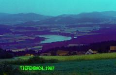 Bayern Oberpfalz Tiefenbach 1987 Silbersee (rieblinga) Tags: bayern oberpfalz tiefenbach dorf silbersee 1987 analog sc2 revue dia 100