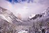 Tunnel View (3dRabbit) Tags: snow storm yosemite national park tunnel view sungjinahn nikon d810 wide 20mm