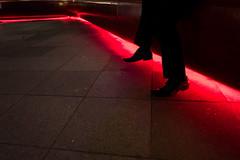 Singapore. July 2016 (Victor M. Perez) Tags: leicaq leica southeastasia streetphotography geometry redlight shoes singapore