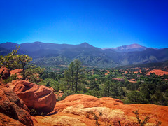The Dream Land (Randy • R) Tags: 5s co colorado manitousprings us unitedstates westcolorado westcoloradosprings amazing beautiful blue colors green iphone landscape mountain mountains nature outdoor outdoors photo photographer photography pic picture sky trees coloradosprings