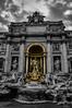 Fontaine de Trévi n&b (herbertnaccache) Tags: triptyque rome coliseum basilique stpierre fontaine de trévi