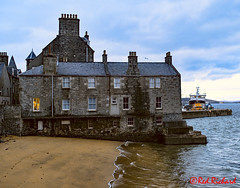 Leave a light on for me (red.richard) Tags: shetland lerwick queens hotel sea maritime beach boat