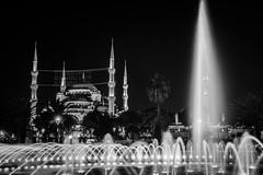 Hagia Sophia  at night (Sean X. Liu) Tags: hagiasophia istanbul nightphotography night turkey church museum mosque architecture fountain longexposure slowshutterspeed