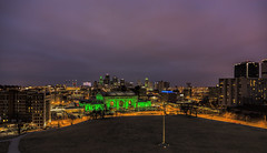 _MG_8630 (MikeDotsonKC) Tags: kansascitymissouri kcmo downtown skyline city buildings lights nightlife clouds night nighttime