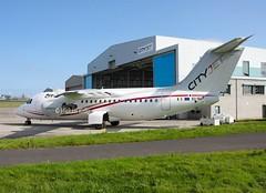Cityjet                                       British Aerospace RJ85                                 EI-RJT (Flame1958) Tags: cityjet cityjetrj85 bae146 b146 146 rj85 britishaerospace146 britishaerospace britishaerospacerj85 regionaljet dub eidw dublinairport eirjt aircrafthanger aircrafthangar 050915 0915 2015 8882