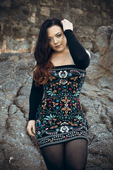 On the Rocks (Luv Duck - Thanks for 13M Views!) Tags: approved genvieve brunette beautifulgirl curvy californiagirls pacificgrove modeling california californiacoast monterey