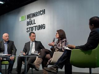 Podium v.l.n.r. Karl-Heinz Meier-Braun, Cem Özdemir, Miriam Koch, Mekonnen Mesghena