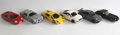 Car Collection (Everblack.) Tags: lego supercars scale115 ferrari lamborghini jaguar audi mercedes porsche wheels toys