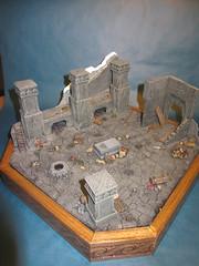 Chamber of Mazarbul (5) (Mangito1) Tags: lordoftherings herrderringe mazarbul moria dwarfs gimli gandalf