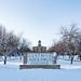 Gustavus Adolphus College in Winter, St. Peter, Minnesota