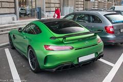 AMG GTR (Nico K. Photography) Tags: mercedesbenz amg gtr green supercars rare nicokphotography switzerland zürich