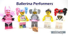 Ballerina Performers (WhiteFang (Eurobricks)) Tags: lego collectable minifigures series city town space castle medieval ancient god myth minifig distribution ninja history cmfs sports hobby medical animal pet occupation costume pirates maiden batman licensed dance disco service food hospital child children knights battle farm hero paris sparta historic brick kingdom party birthday fantasy dragon fabuland circus