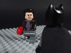 Better Batman Than You (-Metarix-) Tags: lego minfig dc comics comic jason todd red hood gotham batman bruce wayen detective into outlaw infinite crisis