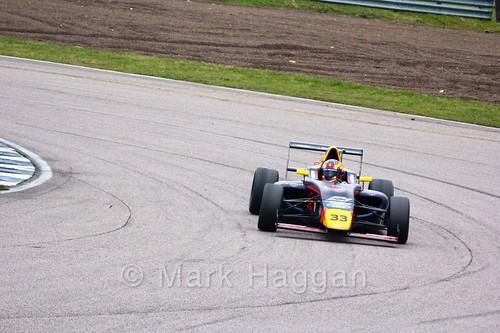 Jack Doohan in British F4 pre-season testing 2018