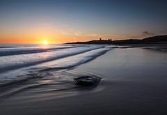 Embleton bay sunrise (alf.branch) Tags: sea seaside seawaves seascape seaweed seashore water waves northumbria coast eastcoast alfbranch landscape sunrise sunshine winter cold olympus olympusomdem1 omd zuiko zuiko1240mmf28pro