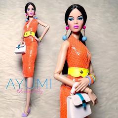 Ayumi Nakamura for #FashionFriday wearing #ELIDA (Elian Stellar) Tags: fashionfriday elida