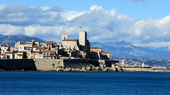 Antibes, les remparts - 06 (bernard.bonifassi) Tags: bb088 06 alpesmaritimes 2018 mars mer merméditerranée côtedazur eu canonsx60