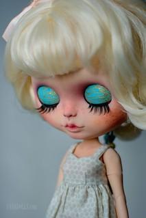 Martie (OOAK Blythe doll)