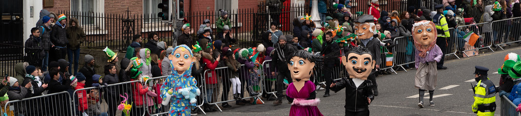 ARTASTIC - TICK TOCK OF THE FAMILY CLOCK [DUBLIN PARADE 17 MARCH 2018]-137699
