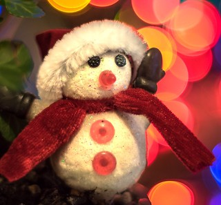 """Macro Monday once upon a time """"The Snowman """""""