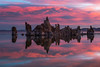 Sunrise, Mono Lake (Desi595) Tags: christmas junelake mono lake red sunrise reflections 395 california leevining sierra