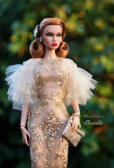 Bling bling sunshine (pure_embers) Tags: pure embers doll dolls uk pureembers photography laura england chanelle poppy parker emberschanelle rimdoll ooak repaint red ginger hair dress portrait kdollfashion glam glamour