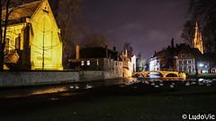 A night in Bruges (25) (Lцdо\/іс) Tags: brugge bruges night belgique belgium belgie lights lцdоіс beauty awesome curch city citytrip cityscape travel trip flamande flandre flanders decembre december 2017