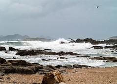 Costa de Baiona_3240069 (peruchojr) Tags: rompeolas baiona playa mar agua océanoatlántico galicia