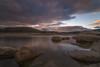 Atardecer en el Burguillo. (Amparo Hervella) Tags: embalsedelburguillo ávila españa spain nube reflejo color naturaleza largaexposición d7000 nikon nikond7000 comunidadespañola