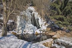 Königshütter Wasserfall (appeldorn99) Tags: winter wasserfall eis sachsenanhalt nationalparkharz harz königshütte